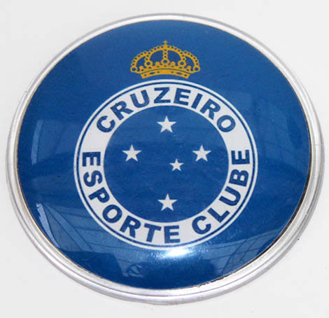 Cruzeiro Magnetic Large Plastic Brazil Soccer