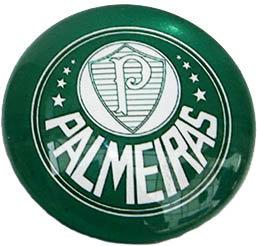 Palmeiras Magnetic Small Glass Brazil Soccer Leagu