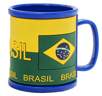 CaBrPVC - Caneca Brazil PVC
