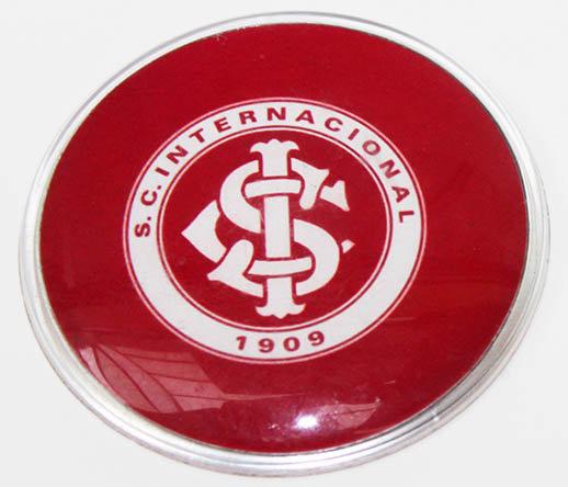 Internacional Large Plastic Brazil Soccer Magnet