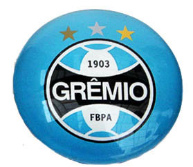 Gremio Magnetic Small Glass Brazil Soccer League