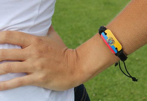 EcLeBr - Ecuador Leather Bracelet