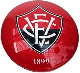 Vitoria Magnetic Small Glass Brazil Soccer League