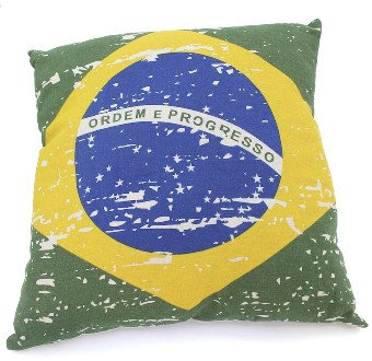 BrPi - Brazil Pillow