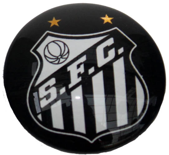 Santos Magnetic Small Glass Brazil Soccer League