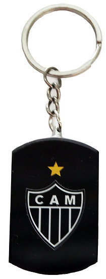 Atletico Mineiro Glass Key Chain