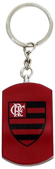 Flamengo Glass Key Chain