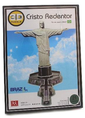 3DChRePu - 3D Christ the Redeemer Puzzle