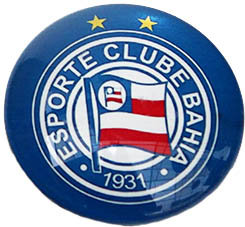 Bahia Magnetic Small Glass Brazil Soccer League