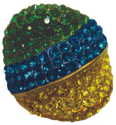 Ring Brazil Colors Stones, RiBrCoSt