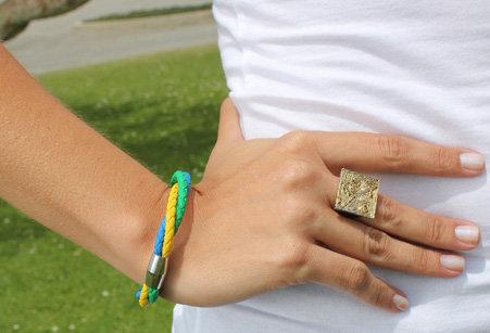 Br3CoMaBr - Bracelet 3 Color Magnet Bracelet