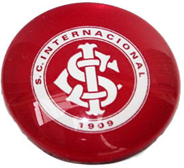Internacional Magnetic Small Glass Brazil Soccer L