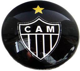 Atletico Mineiro Magnetic Small Glass Brazil Socce