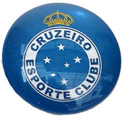 Cruzeiro Magnetic Small Glass Brazil Soccer League