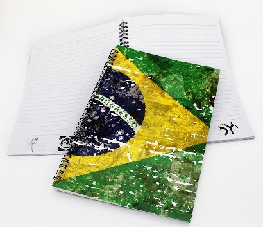 BrSpCoNo - Brazil Spiral Coil Notebook