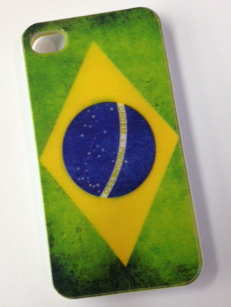 iPhone 4, Brazil Vintage Cellphone Cover