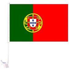 PoCaFl - Portugal Car Flag MOQ - 12/Pcs