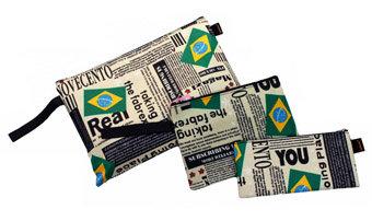Insert Brazil Pattern Bag Small