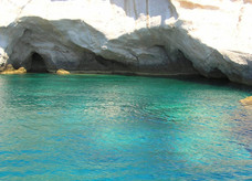 sea cave Antiparos