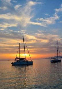 sailboats Mykonos