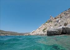 Clear waters Antiparos