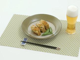 キンニク飯!肉詰め高野の甘辛煮