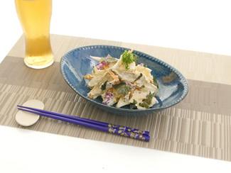 根菜たっぷり海苔チー和え