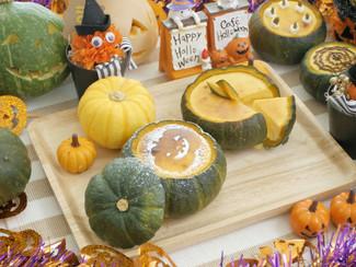 かぼちゃまるごとチーズケーキ