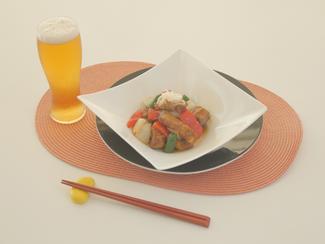 ジンジャー酢豚