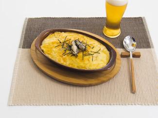 牡蠣のトロトロ長芋焼き
