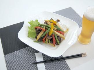 彩り野菜の豆鼓炒め