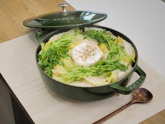 白菜と大根のミルフィーユ鍋
