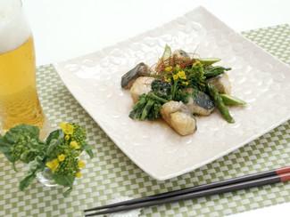 鰆と春野菜のオイスター煮