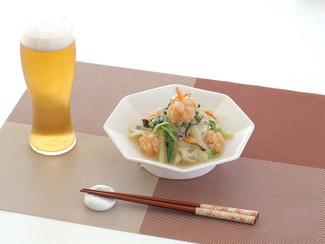 白菜と海老団子の香り煮