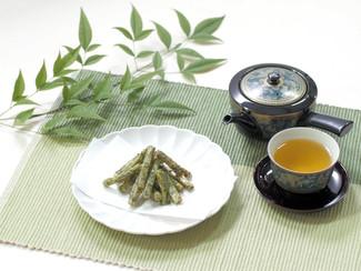 お茶の葉かりんとう