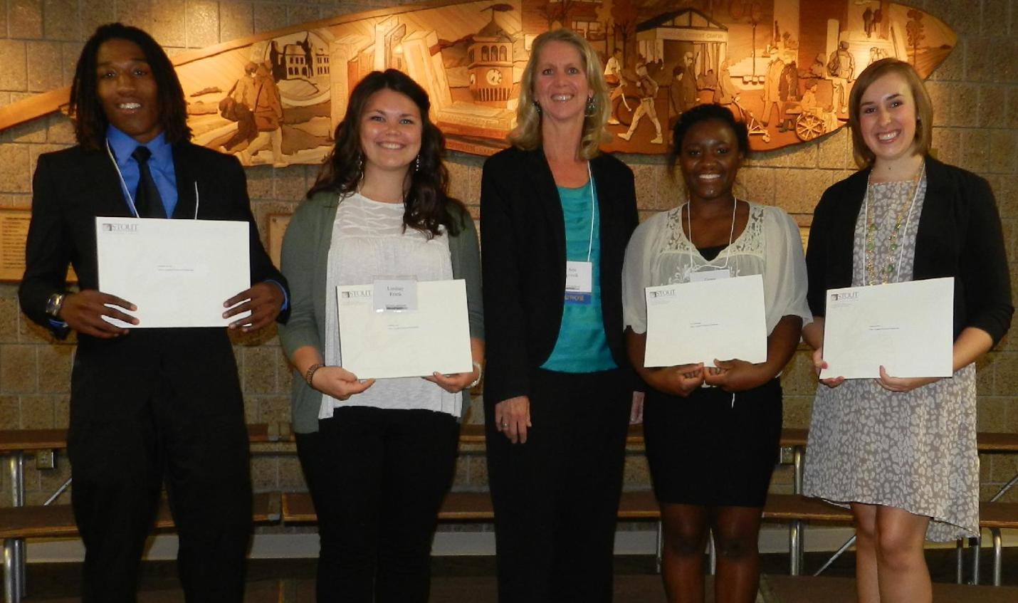 2014 Stout Scholarship Recipients