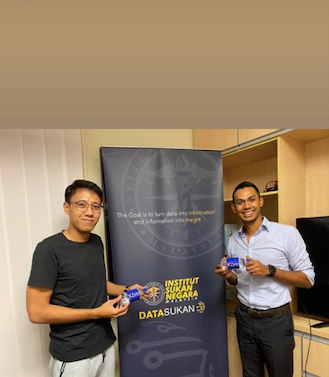 Malaysian National Sports Institute testing of Kure Oxygen Water in 2021