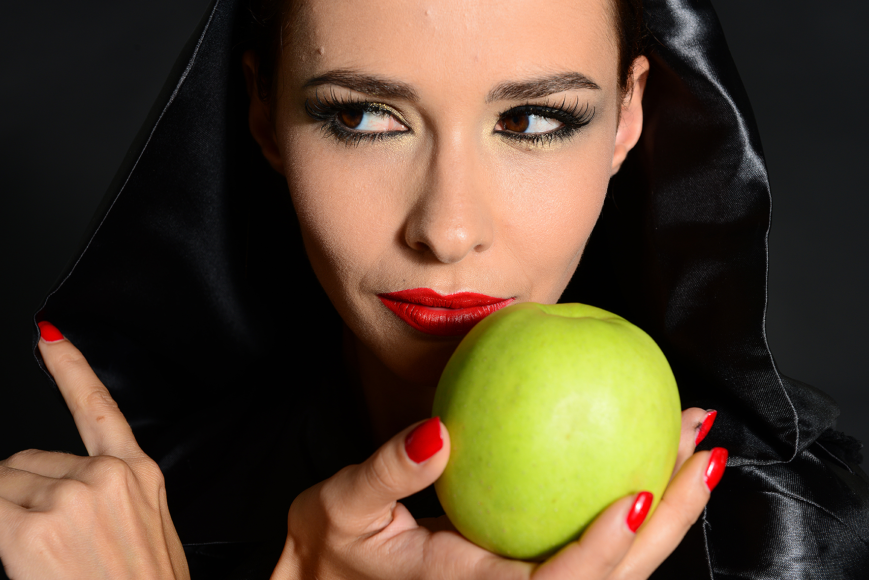 ritratto studio make up apple