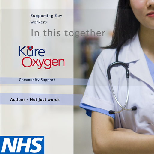 Kure Oxygen & The NHS, at the heart of the community
