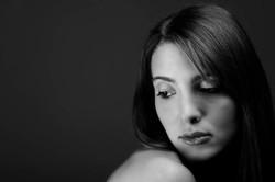 ritratto studio black and white