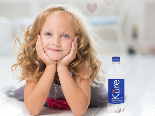 Kure Oxygen Water, Easy Health for KIDS - Their Health-Style.