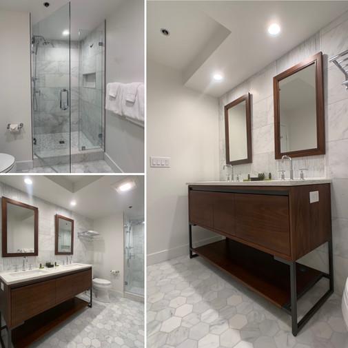 Sleek Contemporary Bath