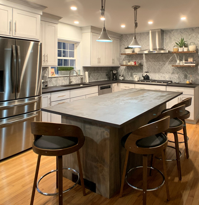 Industrial Vermont Kitchen