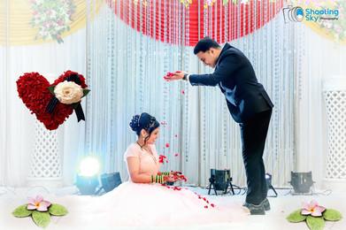 Pre-wedding shoot - shooting sky