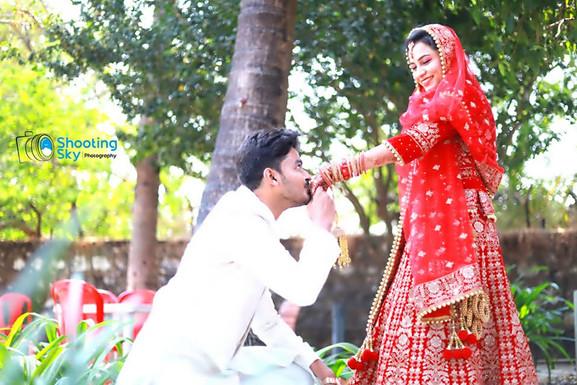 Wedding -  shooting sky studio photography