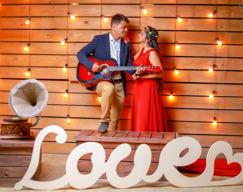 Pre-Wedding - Shooting Sky studio Photography