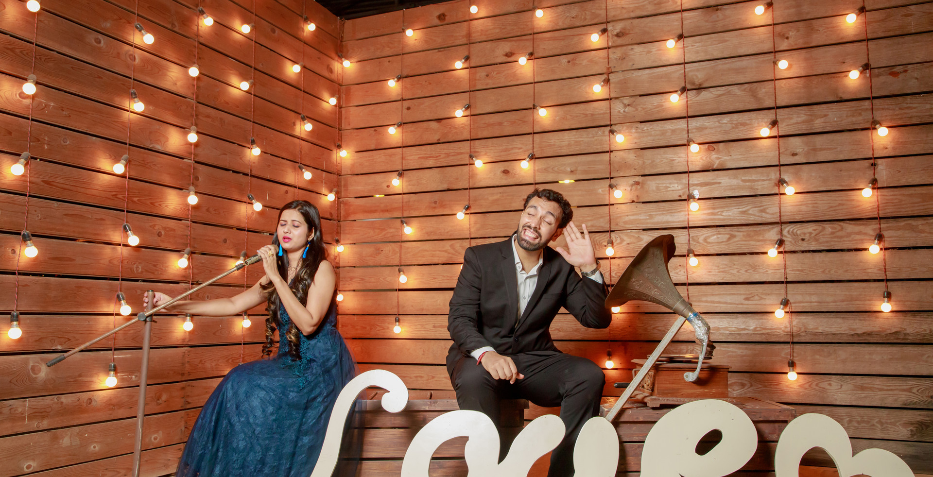 Pre-wedding - Shooting sky studio