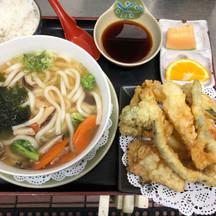 Udon and Tempura Set