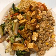 Teriyaki Tofu Teppanyaki