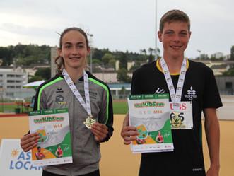 2 TVH-Sieger*in am Kantonalfinal des UBS Kids Cup